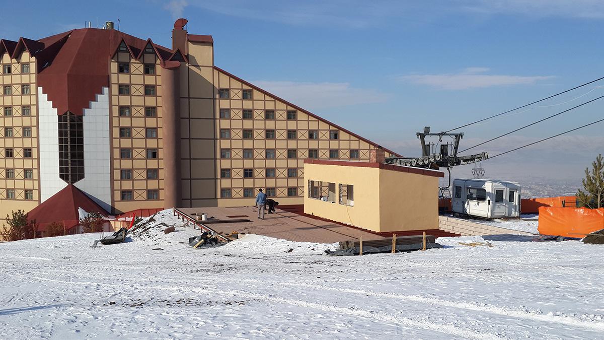 Polat Renaissance Hotel Erzurum Referanslarımız Deck Yapı